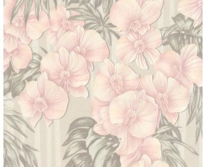 9072-04 Black Orchid Обои Винил Горячего Тиснения 10м*1.06 м/6