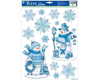 WDX5771 A (новогодние снеговики №1)