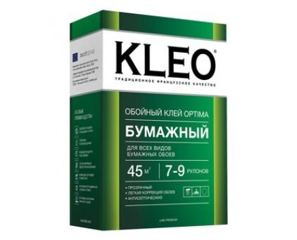 Клей для любых бумажных обоев, сыпучий KLEO Optima 7-9/20