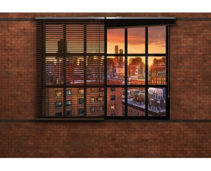 "8-882 Фотообои Komar ""Brooklyn Brick"" Лофт в Бруклине"