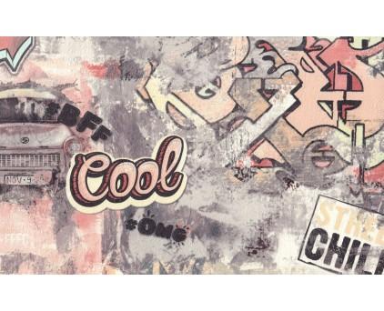 7096-22 Street Art Обои Винил Горячего Тиснения 10м*1.06 м/6