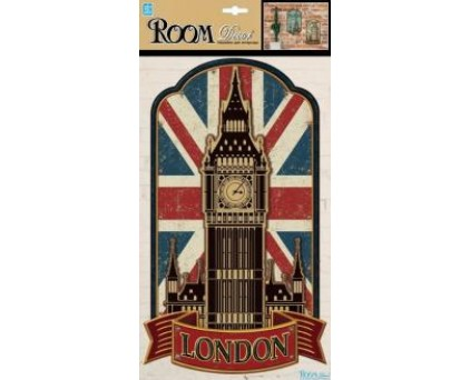 1809 PLA Стикеры LONDON